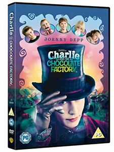 Charlie and the Chocolate Factory [DVD] [2005][Region 2]