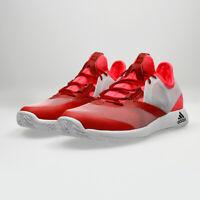 Adidas Women's Adizero Defiant Bounce Tennis Shoes AH2112 Flash Red Size 10