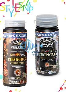 AZOO Plus Ultra Fresh Tropical Micro Pellet Tetra Guppy Organic Fish Food Diet