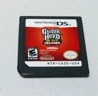 GUITAR HERO: ON TOUR DECADES NINTENDO DS [CARTRIDGE ONLY] TESTED