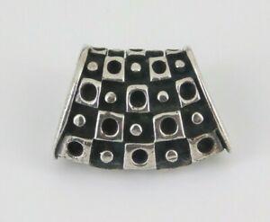Sterling Silver Omega Slide Pendant