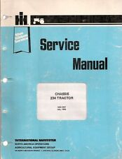 IH 234 Tractor Chassis Service Manual