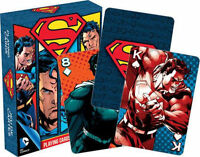 SUPERMAN - PLAYING CARD DECK - 52 CARDS NEW - DC COMICS MAN OF STEEL 52267