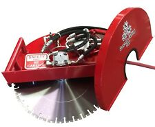 "Hydraulic Concrete Cutting Handsaw: 20""; Flush Combo Saw"
