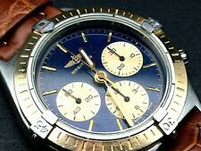 BREITLING CALLISTO CRONO GOLD 18K & ST 80520N SPECIAL EDITION WATCH, GENTS,BOX