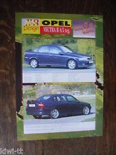 MS Design Opel Vectra B 4/5 TRG. folleto/brochure/depliant, d/gb/F