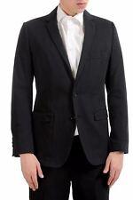 Dolce & Gabbana Men's Black Two Button Blazer Sport Coat US 38 IT 48