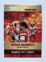 2017 Patrick Mahomes II Rookie Card Rookie Phenoms Limited Edition