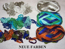 3,50 €/100 GR Frilly of Schachenmayr Frilly Scarf Ruffle Wool M Glitter