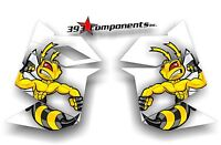 SKI DOO REV XP SNOWMOBILE SLED GRAPHICS DECAL STICKER KIT SIDE PANEL KILLER BEE