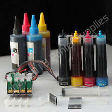 CISS & Extra set Ink T0125 125 T0124 124 for Epson NX130