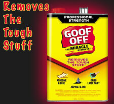 Goof Off The Miracle Remover Stain Spot Graffiti Oil Paint Glue Remover 3.78L