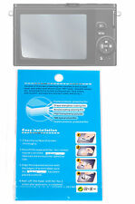Crystal Clear Screen Guard/Protector for Samsung NX30, NX300, NX300M, NX3000