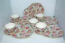 Royal Winton Grimwades Summertime Ascot Dessert Cup & Plate Set