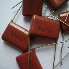 10pc Metallized Polypropylene Film Capacitor 0.47uF 630V for vintage radio amp