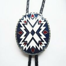 Tie Necklace also Stock in Us American Southwest Pattern Totem Oval Bolo