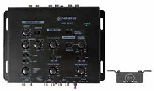 Memphis Audio CX23 3 Way Car Electronic Crossover Processor with Bass Remote