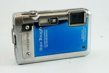 **AS IS** Olympus Stylus / Mju Tough 8010 14 MP Camera - Body Only, Blue