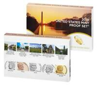 2019 U.S. MINT 10 COIN PROOF SET w/ AB QUARTERS