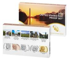 2019 U.S. MINT 10 COIN PROOF SET w/ AB QUARTERS