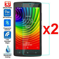2Pcs 9H Premium Real Tempered Glass Film Screen Protector Cover For Lenovo A2010