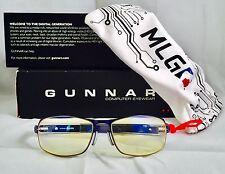 Gunnar Computer Glasses Major League Gaming MLG Phantom Freeze Zeiss Optics New