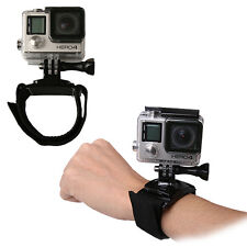 360° Rotating Wrist Strap Band Rotate Mount for GoPro Hero 1 2 3 3+ 4 Camera NEW