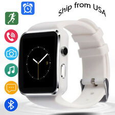 Fashion Bluetooth Smart Watch Wristwatch Phone for Android Men Women Girls Boys
