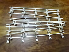 SCALEXTRIC TRIANG  CRASH BARRIERS USED WHITE X11 -