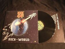 KICK AXE - Rock The World - 1987 Canada Vinyl 12'' Lp./ Exc./ Hard Rock Metal