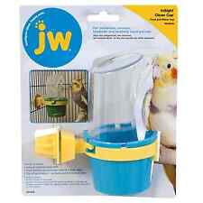 Feeder & Water Cup Bird Cage Lave Birds Cockatiels Medium random Color JW Pet