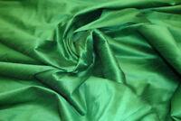 "Shantung Dupioni Faux Silk Fabric, sold  Per Yard 58"" wide, 100% polyester"