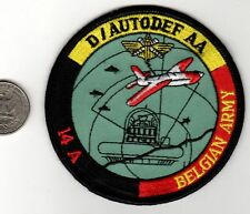 Belgium NATO Belgian Army Navy or Air Force D / Autodef AA 14 A Combat Defense