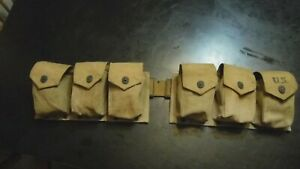 WWII U.S. BAR BELT -- ORIGINAL PLAY GRADE