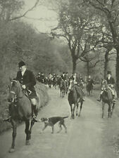 Hunting With The Dartmoor Hunt Hounds 1930 Photo Article 6900
