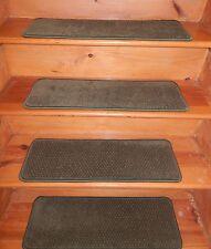 """13 = STEP 9"""" X 27"""" + LANDING 27"""" X 36"""" Staircase Heat Set Nylon Carpet."""