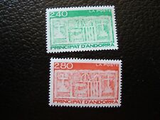 ANDORRE (francais) - timbre yvert/tellier n° 436 437 n** MNH (COL1) (Z)