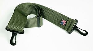 Shoulder Strap with Swivel Hook 2 inches wide Adjustable Heavy Duty Made in USA