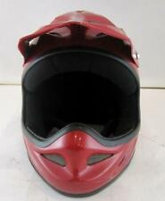 New Boinc Motor Dirt Bike Bicycle Trick Helmet Red With Attached Visor Air Vents