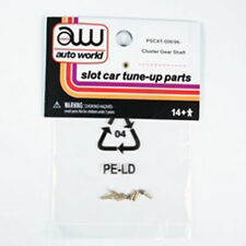 Auto World XTraction Chassis Parts Cluster Gear Shaft Rivet Ho Slot Car PSCXT...
