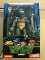 NECA TMNT Teenage Mutant Ninja Turtles Leonardo Movie Figure 1990 MISB '90s New