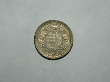 1944 British India -  Silver 1/4 Rupee Nice Coin