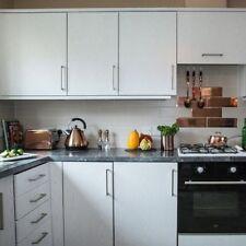2.1m X 90cm PEARL WHITE WOOD WOODGRAIN STICKY BACK PLASTIC SELF ADHESIVE VINYL