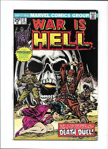 """WAR IS HELL #12 [1975 FN-] """"DEATH DUEL!""""    BONDAGE COVER!"""