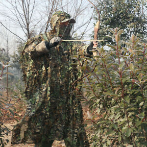 Cloak Poncho Type Camouflage Hunting Clothing Tactical Ghillie Suit