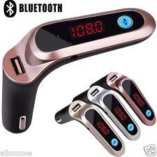 LCD Kit bluetooth per auto accendisigari MP3 Trasmettitore FM Vivavoce