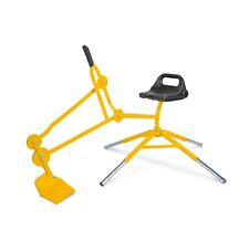 Sand Digger Toy Exavator with Telescoping Legs (blue)