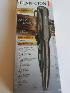 Hair Straightener Flat Iron Wet Straight Steam Vent Ceramic Professional Styling