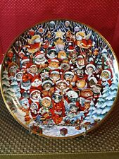 Santa Claws Franklin Mint Collector Plate