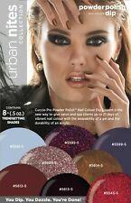 Cuccio Urban Nites Powder Polish Nail Colour Dip System Collection Kit 8 pc